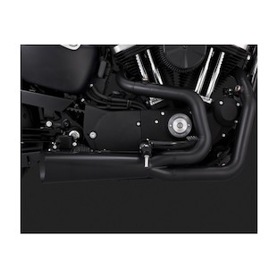 Vance & Hines Competition Series 2-Into-1 Exhaust For Harley Sportster 2014-2018