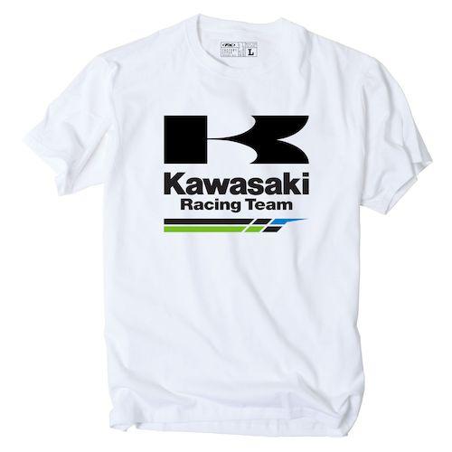 factory effex kawasaki racing team t shirt revzilla. Black Bedroom Furniture Sets. Home Design Ideas