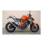 Graves Hexagonal Cat Eliminator Slip-On Exhaust KTM 1290 Super Duke R 2014-2015