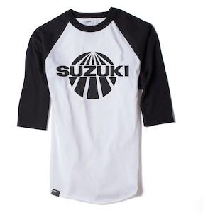 Factory Effex Suzuki Vintage Baseball T-Shirt