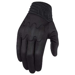 Icon Anthem Stealth Motorcycle Gloves