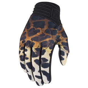 Icon 1000 Cheeter Motorcycle Gloves