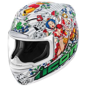 Icon Airmada Lucky Lid 2 Helmet (XS Only)