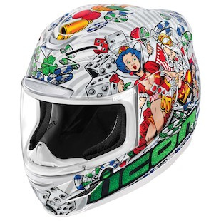 Icon Airmada Lucky Lid 2 Motorcycle Helmet