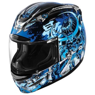 Icon Airmada Shadow Motorcycle Helmet