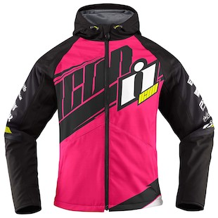 Icon Women's Team Merc Motorcycle Jacket