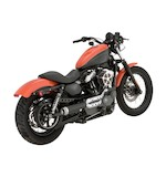 Roland Sands Tracker 2-into-1 Exhaust System For Harley Sportster 2004-2013
