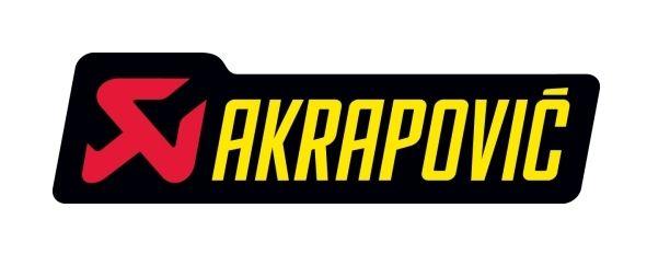 3 Small Akrapovic Aprilia Racing Sticker Resistant Heat