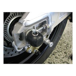 Woodcraft Rear Axle Sliders Aprilia