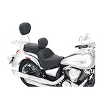 Mustang Wide Touring Seat With Driver Backrest Kawasaki Vulcan VN900B/C 2006-2015