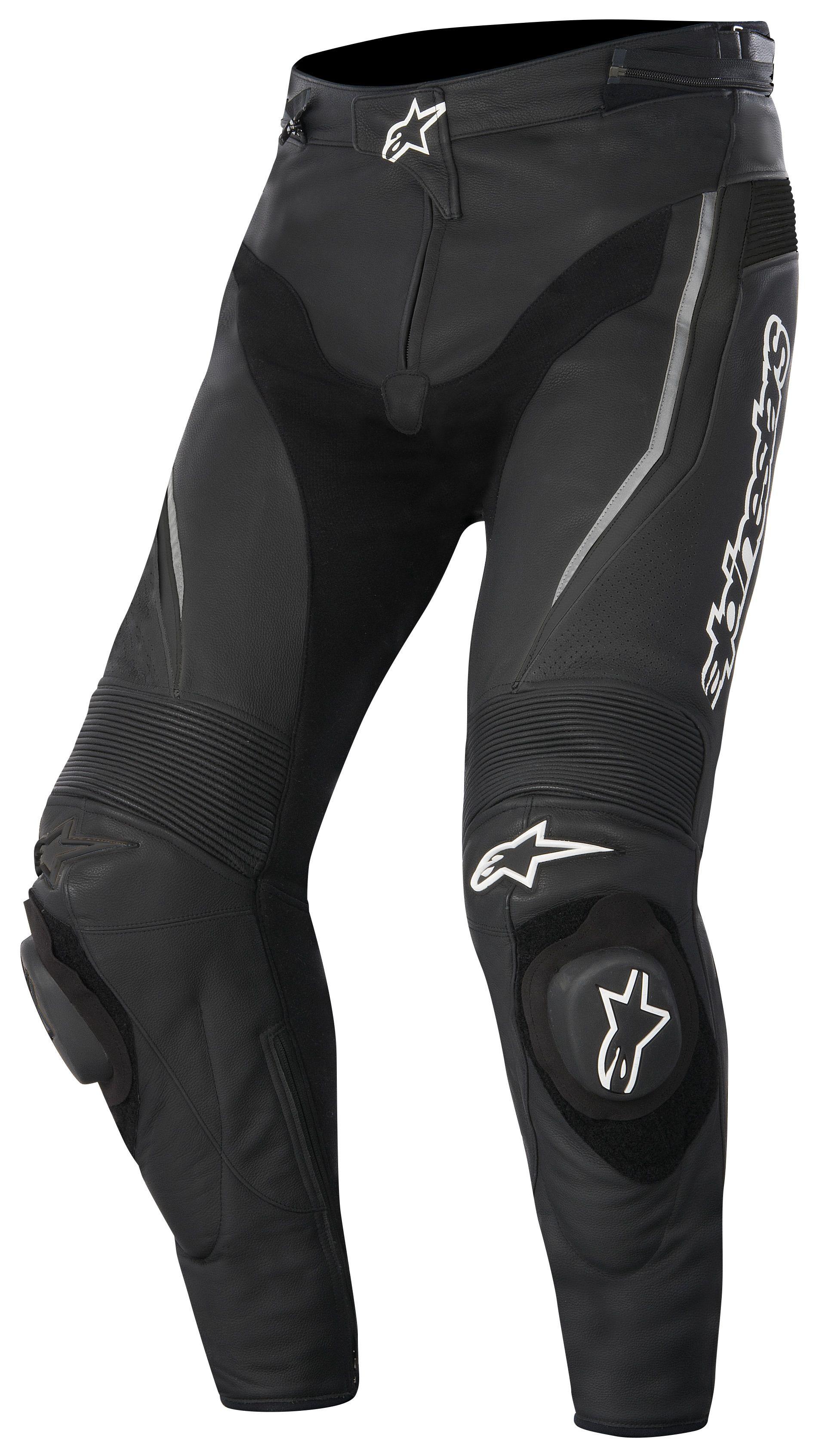 Alpinestars Leather Jacket >> Alpinestars Track Leather Pants - RevZilla