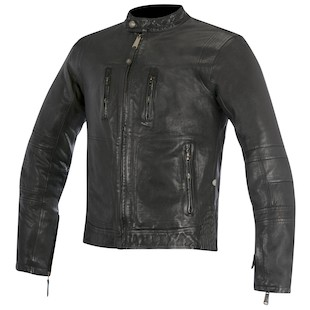 Alpinestars Brass Leather Motorcycle Jacket