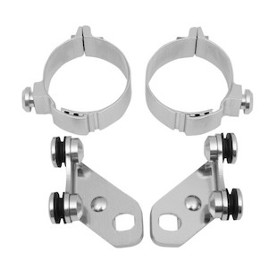 Memphis Shades Metric Trigger-Lock Lowers Mounting Kit Kawasaki / Honda / Suzuki