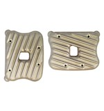 EMD Ribster Rocker Box Covers For Harley Sportster 2004-2016