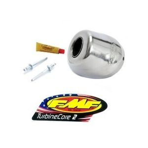 FMF Turbinecore 2 Replacement Rear End Cap Kit