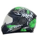 AFX FX-90 Danger Helmet Green / LG [Blemished]