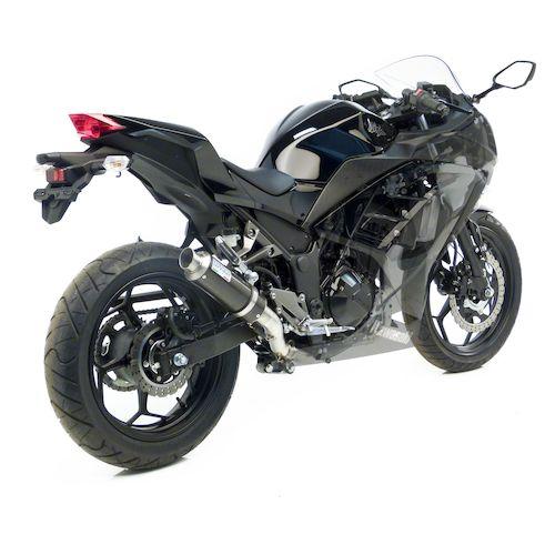 Kawasaki Ninja Leo Vince Corsa Gp Exhaust