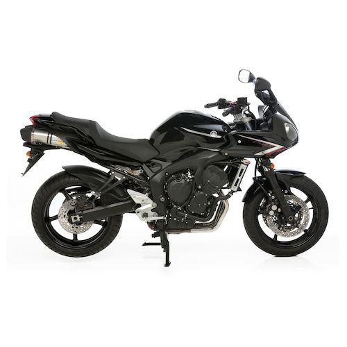 leovince lv one evo ii slip on exhaust yamaha fz6 2007. Black Bedroom Furniture Sets. Home Design Ideas