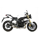 Leo Vince Factory R EVO II Slip-On Exhaust Triumph Street Triple/R 2013-2015