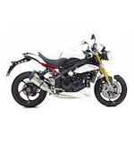 Leo Vince Factory R EVO II Slip-On Exhaust Triumph Speed Triple/R 2011-2015