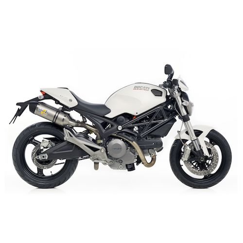 leovince lv one evo ii slip on exhaust ducati monster 696. Black Bedroom Furniture Sets. Home Design Ideas