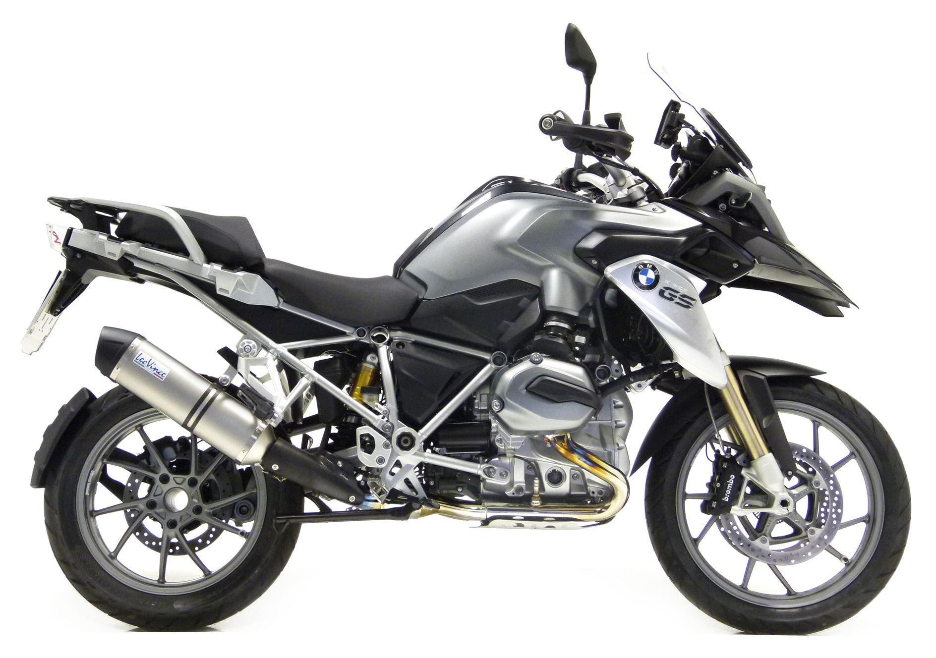 leovince lv one evo ii slip on exhaust bmw r1200gs. Black Bedroom Furniture Sets. Home Design Ideas