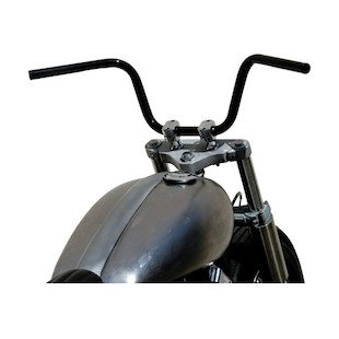 """West Eagle 1"""" Bobber Bars For Harley"""