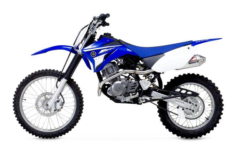 Yoshimura rs 2 exhaust system yamaha tt r 125 l 2000 for Yamaha 125 l