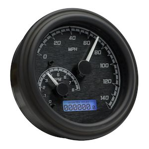 dakota digital mvx series fatbob gauge system for harley big twin