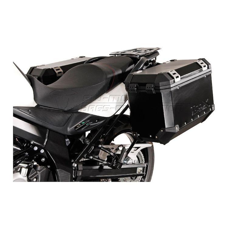 Suzuki V Strom Sw Motech Trax Evo Alu Box  Rack