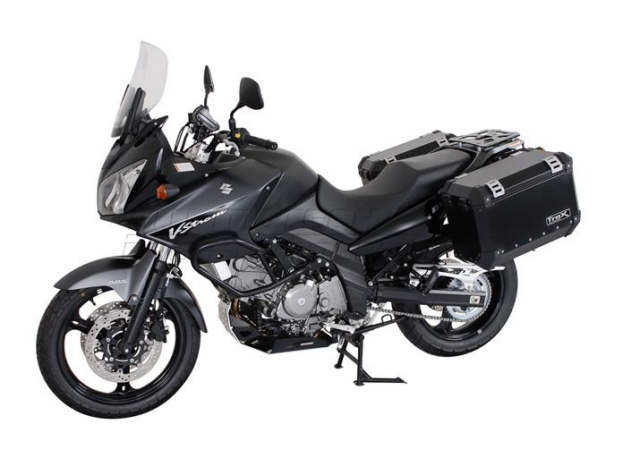 sw motech quick lock evo side case racks suzuki v strom. Black Bedroom Furniture Sets. Home Design Ideas