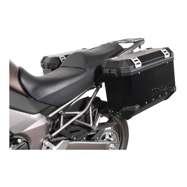 SW-MOTECH Quick-Lock EVO Side Case Racks Kawasaki Versys 1000 2012-2014