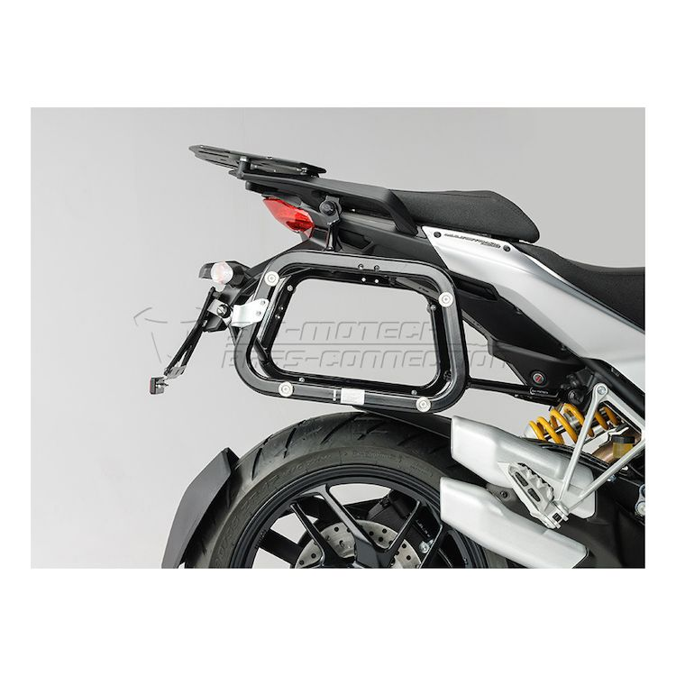 SW MOTECH Quick Lock EVO Side Case Racks Ducati Multistrada 1200 S 2010