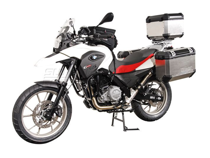 sw motech quick lock evo side case racks bmw f650gs. Black Bedroom Furniture Sets. Home Design Ideas