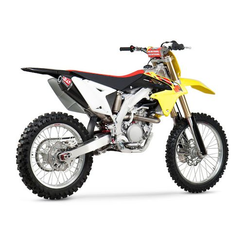 yoshimura rs 4 exhaust system suzuki rm z 450 2008 2016. Black Bedroom Furniture Sets. Home Design Ideas