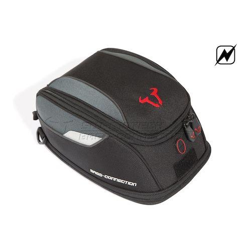 sw motech quick lock evo daypack electric tank bag revzilla. Black Bedroom Furniture Sets. Home Design Ideas