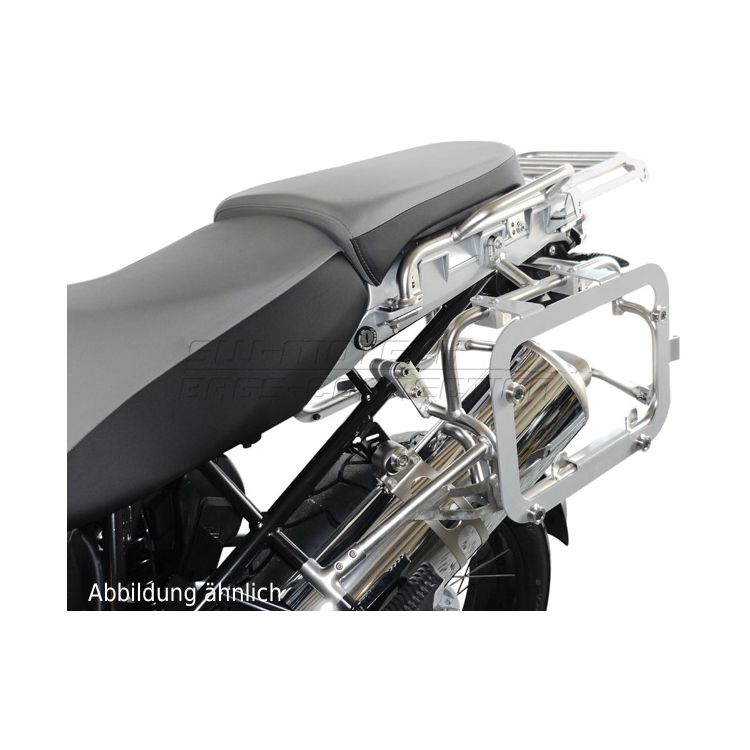SW-MOTECH TraX EVO Side Case Adapter Kit BMW R1200GS Adventure 2004-2013