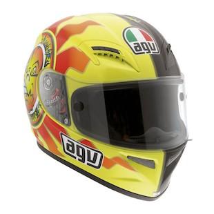 AGV Grid Sun & Moon Helmet Black/Yellow / SM [Blemished]