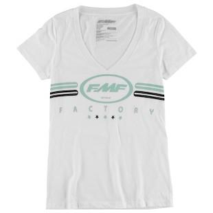 FMF Fine Lines V-Neck Women's T-Shirt