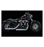 "Crusher Maverick 2.5"" Mufflers For Harley Sportster 2014-2016"