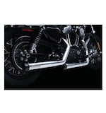 "Crusher Maverick 2.5"" Mufflers For Harley Sportster 2004-2013"