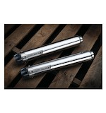 "Crusher Maverick 2.5"" Mufflers For Harley Softail 2007-2017"