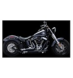 Crusher Maverick 2-Into-2 Exhaust System For Harley