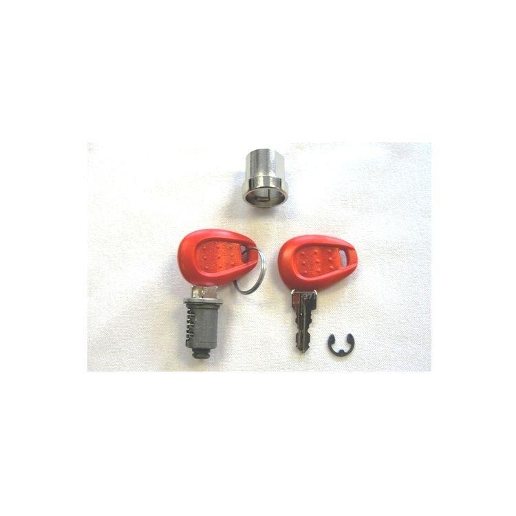 Givi Z661 / Z661A Red / Silver Keys And Lock Set
