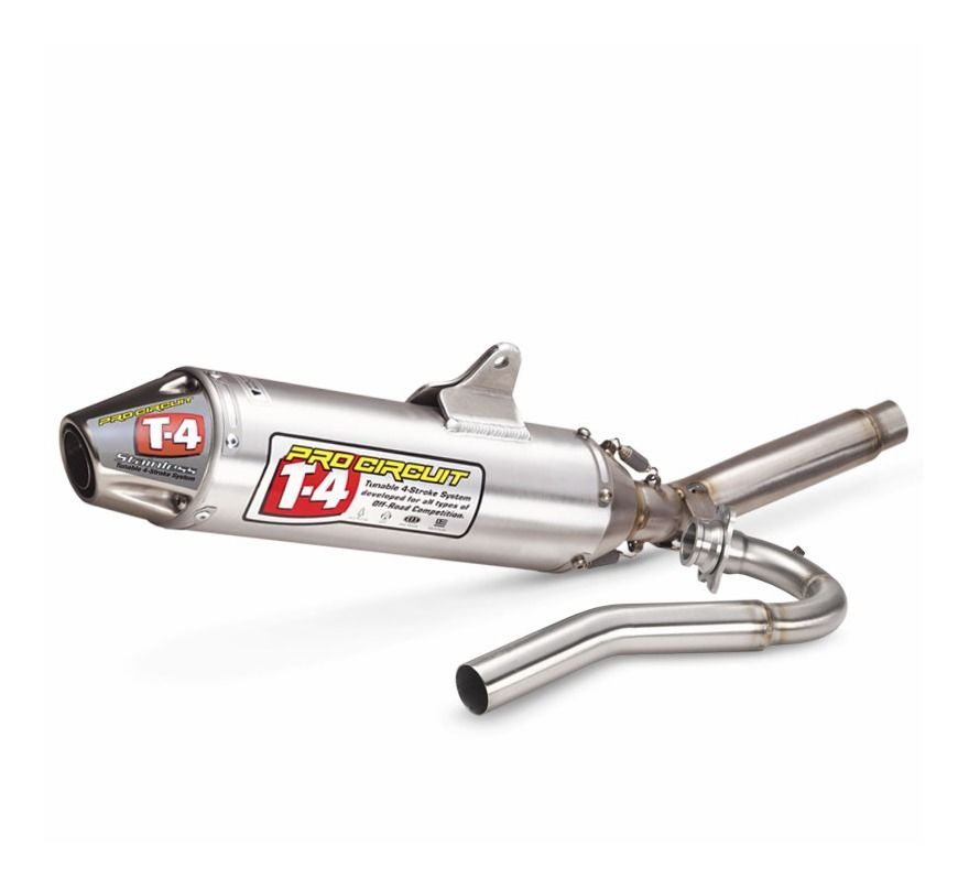 pro circuit t-4 exhaust system honda crf450r 2009-2010