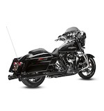 Arlen Ness by MagnaFlow MegaCone Tru-X Exhaust For Harley Touring 2009-2015 Black [Blemished]