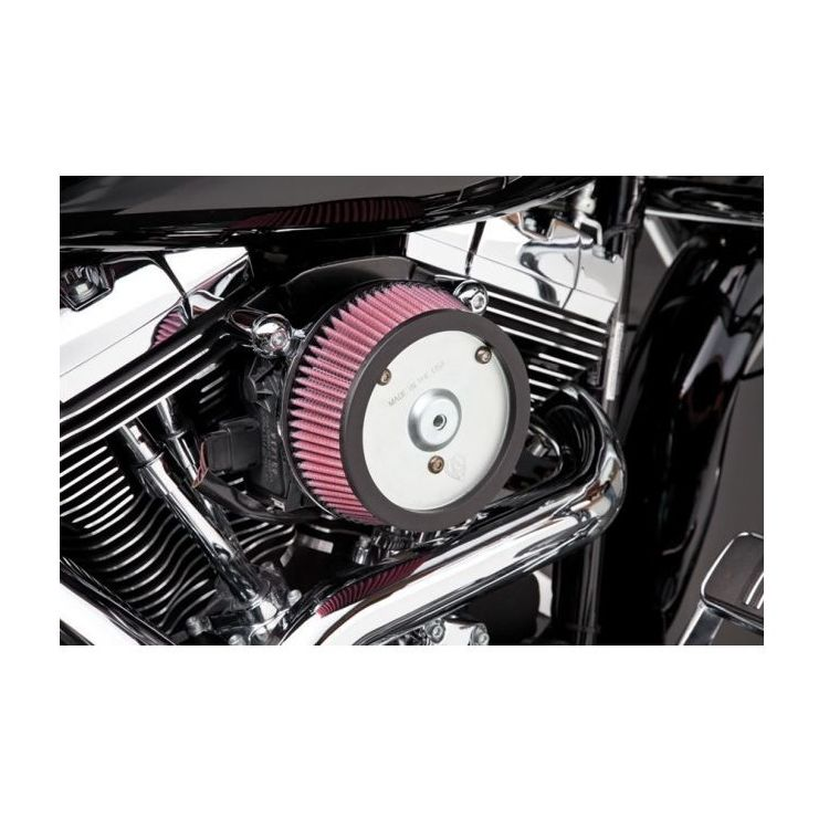 Arlen Ness Naked Stage 1 Big Sucker Air Cleaner For Harley Touring 2008-2013