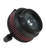 Arlen Ness Naked Stage 1 Big Sucker Air Cleaner For Harley Dyna 2008-2015