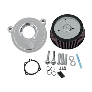 Arlen Ness Naked Stage 1 Big Sucker Air Cleaner For Harley Twin Cam 1999-2015