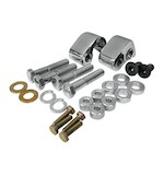 LA Choppers Rear Lowering Kit For Harley Touring 2002-2014 Chrome [Open Box]